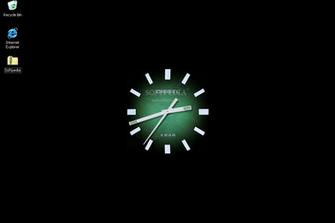 Flash Clock Wallpaper   This is how Flash Clock Wallpaper will look