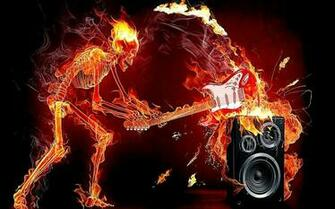 Flaming Skull Wallpapers Cool HD Wallpapers