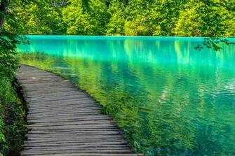 Plitvice lake Wallpapers and Background Images   stmednet