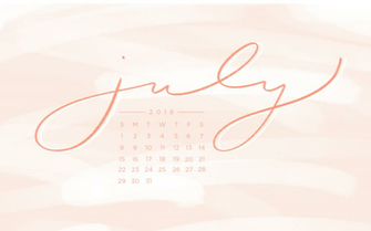 Downloadable Tech Backgrounds for July 2018 The Everygirl