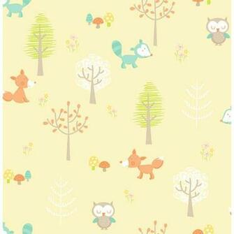 animal   Forest Friends   You Are My Sunshine Wallpaper by Brewster