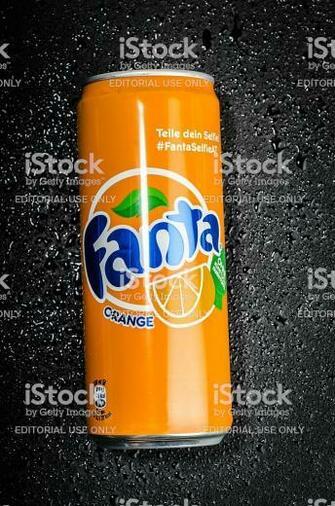 Orange Fanta Can Stock Photo   Download Image Now   iStock