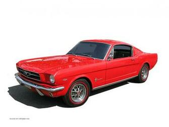 1965 Ford Mustang Wallpaper   Fastback   Left front view 1280 06