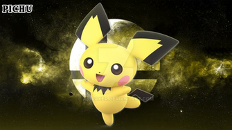 Smash Bros Ultimate Pichu   Wallpaper 4K by AkiraXer