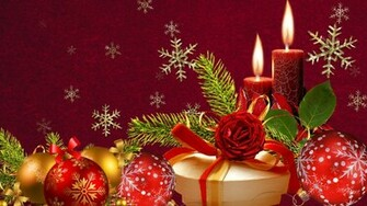 Red and Green Christmas   Backgrounds Wallpapers Pictures Pics