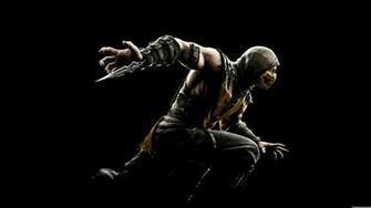 Mortal Kombat X Scorpion UHD 8K Wallpaper Pixelz