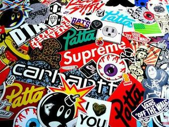 stickers vans supreme vans stickers supreme stickers