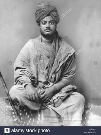 Swami Vivekananda Black and White Stock Photos Images   Alamy
