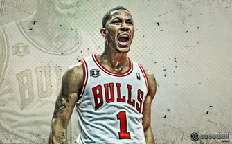 Derrick Rose New 2013 Bulls Wallpaper