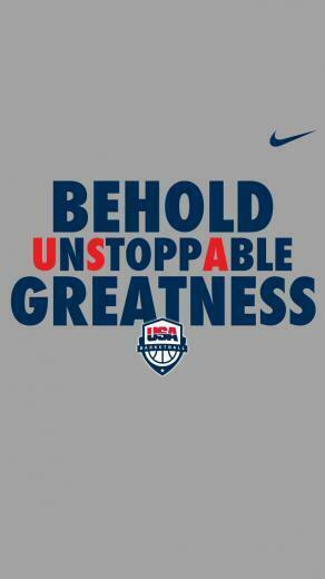 USA Nike iPhone 5 Wallpaper 640x1136