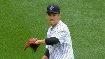Yankees pitcher Masahiro Tanaka dominates As Yankees pictures