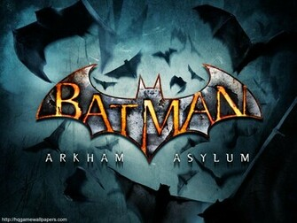 Batman Arkham Asylum widescreen wallpaper