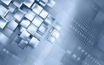 3D White Cubes Wallpapers   6788