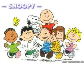 Charlie Brown gang cartoon cartoon wallpapers