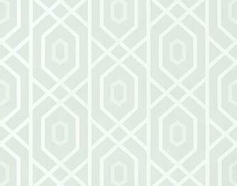 Prescott Wallpaper A geometric wallpaper with a large trellis design
