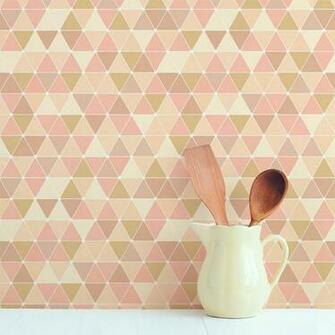 Triangles Removable Wallpaper Tile