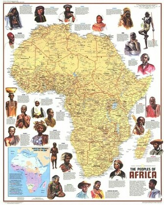 Images For Africa Map Wallpaper