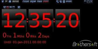 Desktop Countdown Timer