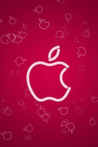 download cute pink apple wallpapers for iphone 4s
