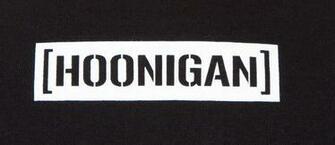 Hoonigan Logo Hoonigan t shirt hrd burst