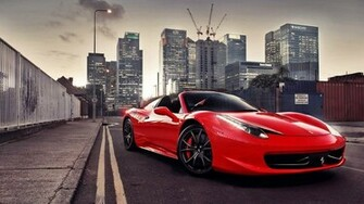 ferrari 458 italia wallpaper hd red Vehicle Pictures