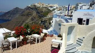 Santorini Greece Wallpaper Greece Desktop Wallpapers 1920x1080