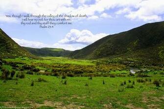 King James KJB versed Christian Wallpaper Psalm 23