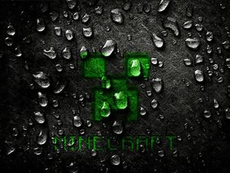 Wallpaper Minecraft 2015 Creeper E Agua EGames