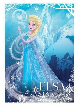 Disney Frozen Elsa Wallpaper Wall Mural 254cm X 184cm