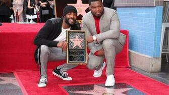 50 Cent receives Hollywood Walk of Fame star fox5sandiegocom