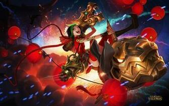 Leading the way into the Lunar Revel we have three new skins These