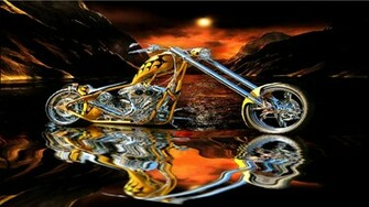 orange county choppers occ custom chopper hot rod rods bike