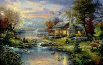Thomas Kinkade Wallpapers