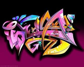Download Abstract Graffiti Wallpaper 1280x1024 Wallpoper