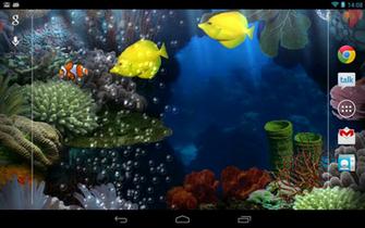 OHS Digital Games Santas Home Live Wallpaper 3D HD