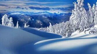 Beautiful winter scenery wallpaper 6040