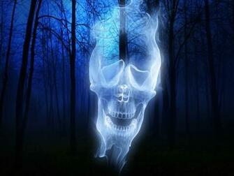 Forest Skull Ghost wallpapers Forest Skull Ghost stock photos