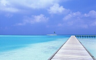 Beach Blue Sky Wallpapers HD Wallpapers