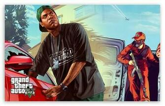GTA V Dual Screen HD desktop wallpaper Widescreen High Definition