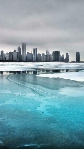 Frozen City iPhone Wallpaper iPhone Wallpaper