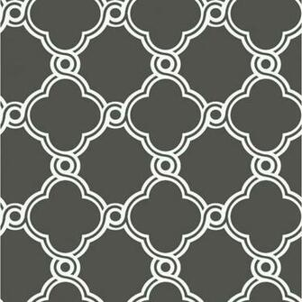 Wallpaper Geometric Moroccan Trellis Wallpaper
