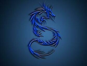Blue Lightning Dragon Wallpaper Download Idiot Dollar