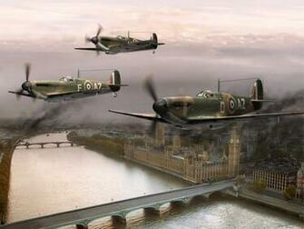 Spitfire Flight wallpaper   ForWallpapercom