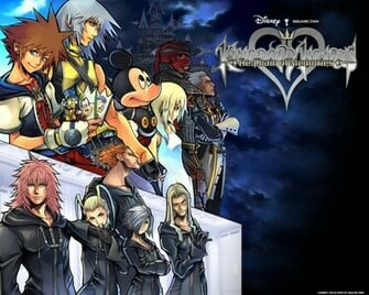 Official Kingdom Hearts Wallpaper   Kingdom Hearts Wallpaper 2754173