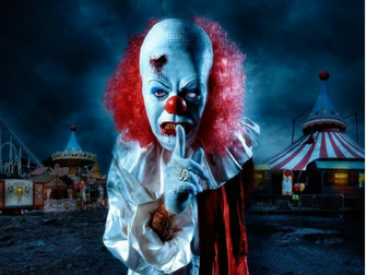 Scary Clown Wallpaper The Desktop Wallpaper