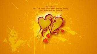 Fall In Love Quotes HD Wallpaper of Love   hdwallpaper2013com