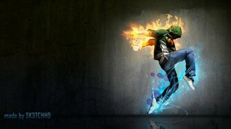 HipHop Wallpaper Full HD 1080p by sk3tchhd
