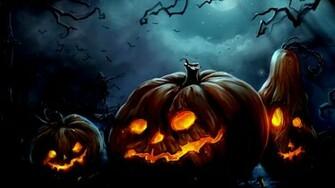 Halloween Computer Wallpapers Desktop Backgrounds 1600x900 ID