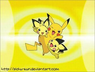 Download Wallpaper Pichu Pikachu by pichu kun [1024x768] 74