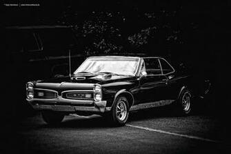 1967 Pontiac GTO BlackWhite by AmericanMuscle